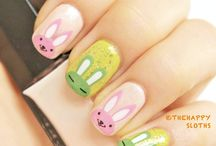 Nails: easter designs
