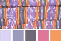 textile color palette / by Dializ arts