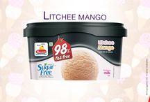 98% Sugar-free & 100% Fat-free Ice Cream / Our 98% Sugar-free & 100% Fat-free Ice Cream for those Health freaks