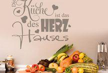 Tatoo Spruch Küche