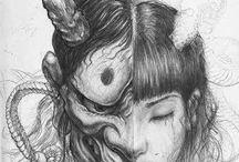 Tattoo Mascara D Samurai