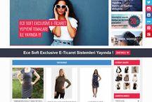 E-Ticaret Sitesi Temalarımız