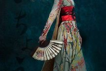 Japanese inspired dresses