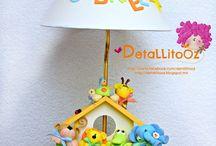 lámparas  de niño