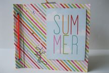 Mini-Album Grateful SUMMER / My workshop by Papers de Sucre.