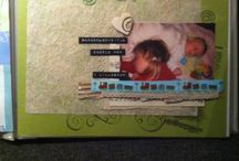 My own scrapbooking layouts