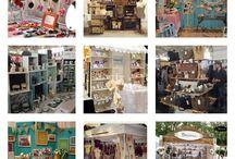 Craft Fair Stuff / craft fair and booth display ideas & info / by Crochet Michele