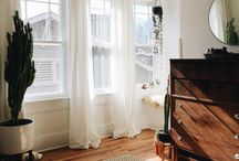 Окна гостиной