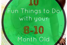 8-10 maande activities vir babas