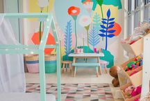 Modern Kidhood / Inspo for kids room design projects