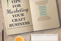 Marketing for Creatives / Learn how to make money selling your art, writing, printables, or coloring books online with these useful marketing tips and strategies.
