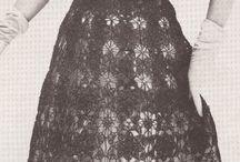 hackovane šaty