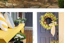 easter&spring decor ideas
