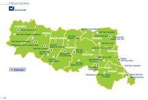 Emilia Romagna Golf, the Maps / Emilia Romagna Golf Maps