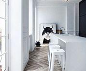 Wit interieur - witte muren