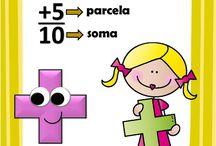 sinais matemática