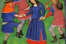 Medieval shepherds / shepherds in medieval times