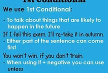 Grammar. Conditionals
