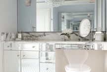 Bathrooms / Stylish bathrooms & powder rooms, tiles, finishes and planning