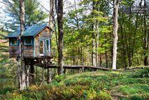 treehouses, etc