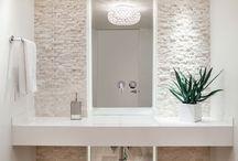 Salle de bain suite parentale / couleur / thème