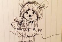 zuuchi_art / #illustration  #art  #animal #girl #japan #japaneseanime