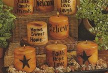 Primitive Decor / by Tracy Lynn