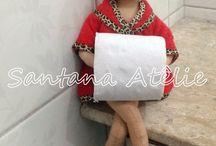 boneca porta papel higienico feltro