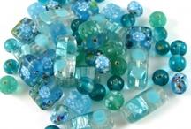 Aquamarine Bead Dreams / Dreaming of aquamarines, turquoises, blue zircon...