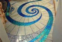 Mosaic floors