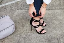 shoes and bags ! / The best street style shots of bags and shoes