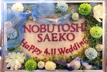 weddig welcome board♡for S