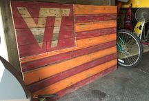 DIY Hokie / Maroon and Orange Do it Yourself Projects