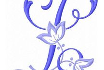 Alfabeto de bordados