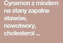 cynamon i miód  na stawy