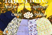 Aprons / Our Egg Aprons are wonderful with individual pockets for egg collecting!!