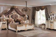 Klasik Yatak Odası Takımları / Luxury Mobilya, Türkiye'nin en lüks klasik mobilya mağazasının daha önce hiç görmediğiniz Yatak Odası Modelleri burada!