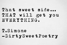 Words - With a sweet twist
