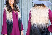 Fall Essentials: Layered Vests / Nothing says fall like layers- check out our favorite vests for fall and winter at these boutiques...