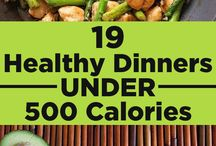 19 Healthy dinners under 500 calories.