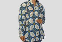 Kemeja Batik Wanita Lengan Panjang Resleting Jepang, [1158]