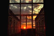 pretty skies & sunrise