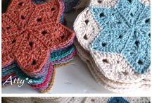 Crochet colchas.
