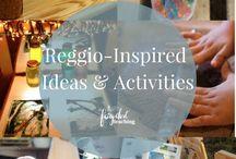 Reggio Inspired in Practice / A collaborative board to share our favorite Reggio Inspired Activities and Ideas