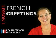 Learning French with Alexa / Learning French with the youtube videos of Alexa Polidoro.