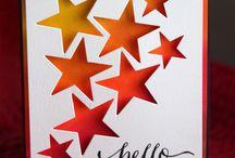 Cards - Stars, Sky & Moon
