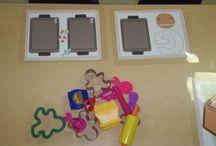 preschool playdough mats