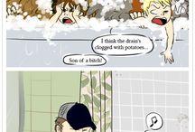 Пернатые комиксы