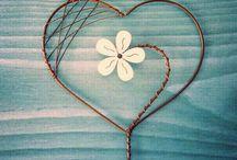 corazones para deco