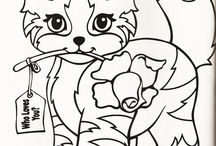 COLORING - CATS